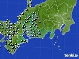 東海地方のアメダス実況(降水量)(2019年05月28日)