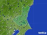2019年05月29日の茨城県のアメダス(風向・風速)