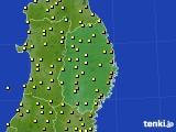 2019年05月30日の岩手県のアメダス(気温)