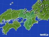 近畿地方のアメダス実況(降水量)(2019年05月31日)
