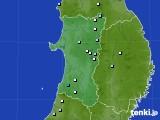 2019年05月31日の秋田県のアメダス(降水量)