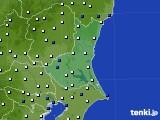 2019年05月31日の茨城県のアメダス(風向・風速)