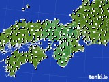 2019年06月05日の近畿地方のアメダス(風向・風速)