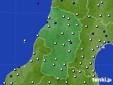 2019年06月05日の山形県のアメダス(風向・風速)