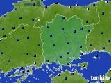 岡山県のアメダス実況(日照時間)(2019年06月07日)