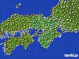 近畿地方のアメダス実況(気温)(2019年06月07日)