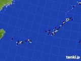 沖縄地方のアメダス実況(風向・風速)(2019年06月07日)