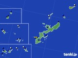 2019年06月09日の沖縄県のアメダス(風向・風速)
