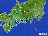 東海地方のアメダス実況(降水量)(2019年06月11日)