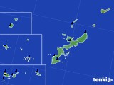 沖縄県のアメダス実況(日照時間)(2019年06月11日)