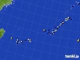 沖縄地方のアメダス実況(風向・風速)(2019年06月14日)