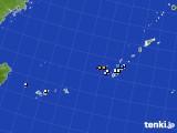 沖縄地方のアメダス実況(降水量)(2019年06月18日)