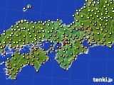 アメダス実況(気温)(2019年06月22日)