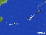 沖縄地方のアメダス実況(降水量)(2019年06月23日)