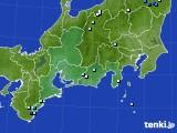 東海地方のアメダス実況(降水量)(2019年06月23日)