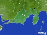 静岡県のアメダス実況(降水量)(2019年06月24日)