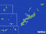 2019年06月28日の沖縄県のアメダス(風向・風速)