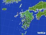 九州地方のアメダス実況(降水量)(2019年07月01日)