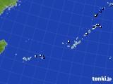 沖縄地方のアメダス実況(降水量)(2019年07月04日)