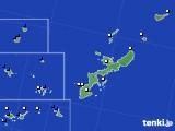 2019年07月06日の沖縄県のアメダス(風向・風速)