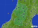 2019年07月06日の山形県のアメダス(風向・風速)