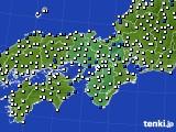 2019年07月11日の近畿地方のアメダス(風向・風速)