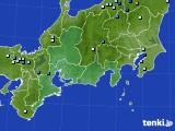 東海地方のアメダス実況(降水量)(2019年07月23日)