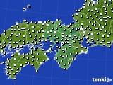 2019年07月24日の近畿地方のアメダス(風向・風速)