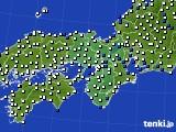 2019年07月26日の近畿地方のアメダス(風向・風速)