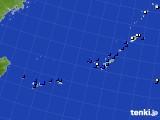 2019年08月06日の沖縄地方のアメダス(風向・風速)