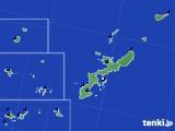 沖縄県のアメダス実況(日照時間)(2019年08月08日)