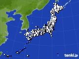 アメダス実況(風向・風速)(2019年08月10日)