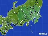 2019年08月14日の関東・甲信地方のアメダス(降水量)