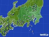 2019年08月15日の関東・甲信地方のアメダス(降水量)
