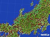 アメダス実況(気温)(2019年08月16日)