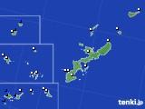 2019年08月16日の沖縄県のアメダス(風向・風速)