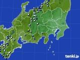 2019年08月19日の関東・甲信地方のアメダス(降水量)