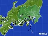 2019年08月23日の関東・甲信地方のアメダス(降水量)