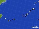2019年08月24日の沖縄地方のアメダス(風向・風速)
