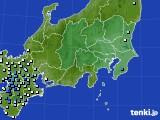 2019年08月27日の関東・甲信地方のアメダス(降水量)