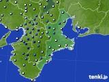 2019年08月27日の三重県のアメダス(降水量)