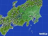 2019年08月28日の関東・甲信地方のアメダス(降水量)