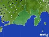 2019年08月28日の静岡県のアメダス(降水量)