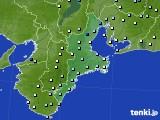2019年08月30日の三重県のアメダス(降水量)