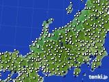 北陸地方のアメダス実況(風向・風速)(2019年08月31日)
