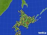 アメダス実況(気温)(2019年09月03日)