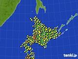 アメダス実況(気温)(2019年09月04日)