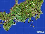 2019年09月05日の東海地方のアメダス(気温)
