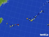2019年09月05日の沖縄地方のアメダス(風向・風速)