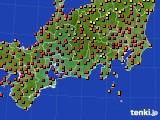 2019年09月09日の東海地方のアメダス(気温)